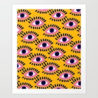 Colorful Eyes IV. Art Print