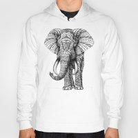 Ornate Elephant Hoody