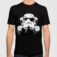 Pirate Trooper - Black Mens Fitted Tee Black SMALL