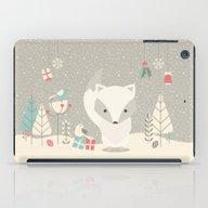 Christmas Baby Fox 04 iPad Case