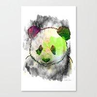 Marshmallow Panda Syndro… Canvas Print