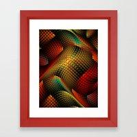 Bed of Snakes Framed Art Print