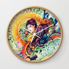 Trance Wall Clock