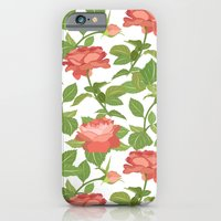 roses iPhone & iPod Cases featuring Roses by Julia Badeeva