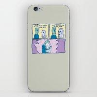 PRECIOUS FRIENDS iPhone & iPod Skin