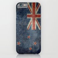 National Flag Of New Zea… iPhone 6 Slim Case