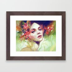 August Framed Art Print