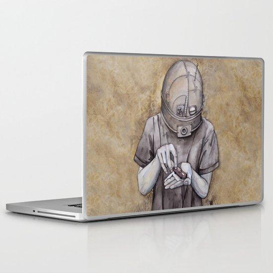 It starts early Laptop & iPad Skin