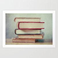 Books Love Art Print