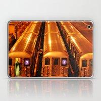 New York Queens Subway 7… Laptop & iPad Skin