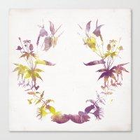 Flora Canvas Print