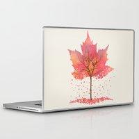 fall Laptop & iPad Skins featuring Fall by Dan Hess