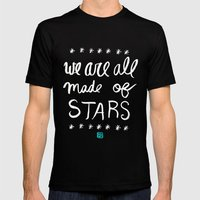 Made of Stars Mens Fitted Tee Black SMALL