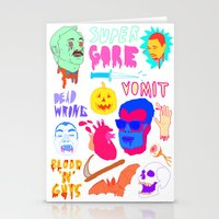 Super Gore Stationery Cards