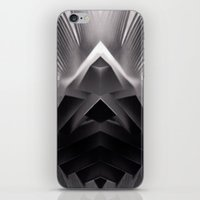 Paper Sculpture #7 iPhone & iPod Skin