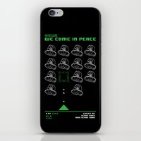 Abduction From Uranus iPhone & iPod Skin