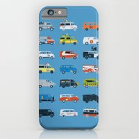 iPhone Cases featuring It Would Have Been Cooler as a Van by Brandon Ortwein