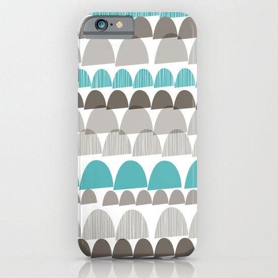 Shroom aqua iPhone & iPod Case