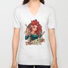 Fate Loves The Fearless Unisex V-Neck