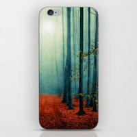 Landscape (colour option) iPhone & iPod Skin