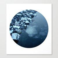Telescope 10 Ice  Canvas Print