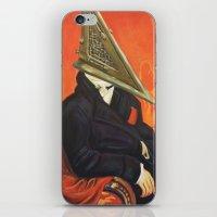 Baron Pyramid Head iPhone & iPod Skin