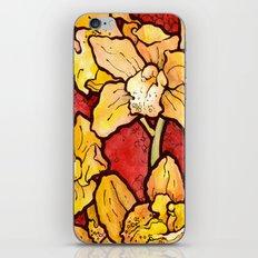 Yellow Lillies iPhone & iPod Skin