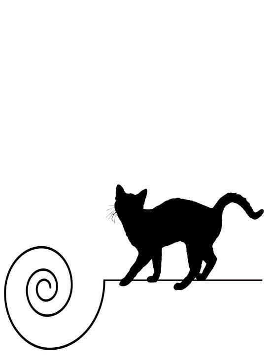 les chats #2 Art Print