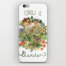 Grow A Garden iPhone & iPod Skin