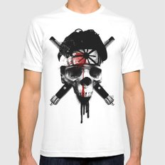 Death to LaRusso Mens Fitted Tee White SMALL