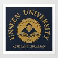 Assistant Librarian Art Print