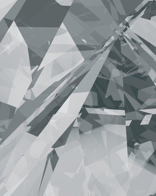 Ice cracks #2 Art Print