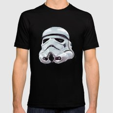 star war Mens Fitted Tee Black SMALL