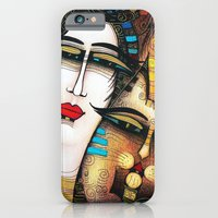iPhone & iPod Case featuring My friend by ALBENA