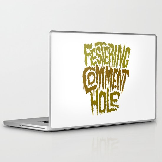 Festering Comment Hole Laptop & iPad Skin