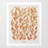 Forest Morning Art Print