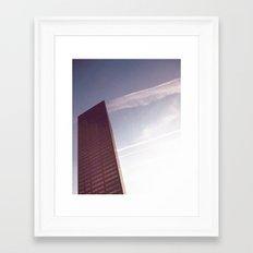 BIG PINK Framed Art Print