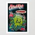 CTHUL-AID Art Print