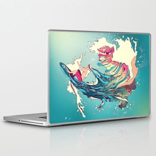 Blind Surfer Laptop & iPad Skin