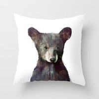 Little Bear Throw Pillow