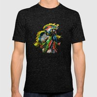 Young Dancer Mens Fitted Tee Tri-Black SMALL