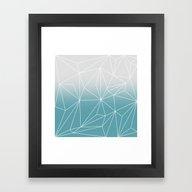 Framed Art Print featuring Simplicity 2 by Mareike Böhmer Grap…
