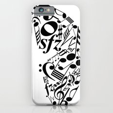 Music butterfly Slim Case iPhone 6s