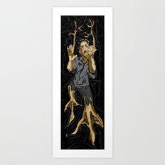 Fight the Evolution Art Print