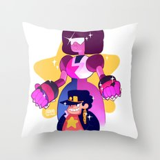 steven and his stand Throw Pillow