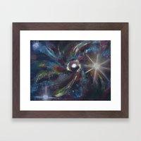 Spiral Galaxy Framed Art Print