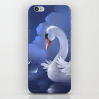 Swan Pleados iPhone & iPod Skin