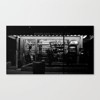 Night Bright Canvas Print