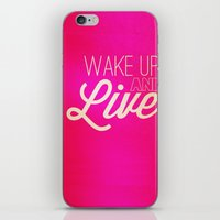 Don't Waste It.  iPhone & iPod Skin