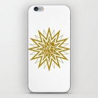 Star (gold) iPhone & iPod Skin